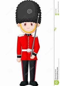 Cartoon A British Royal Guard Stock Photo - Image: 34612590