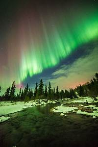 Solar Northern Lights Aurora Borealis Photos Of Northern Lights Over Alaska