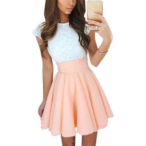 Mini Lace Kawaii Summer Dress for Women | Summer and Beach Dresses at BuyForBeach