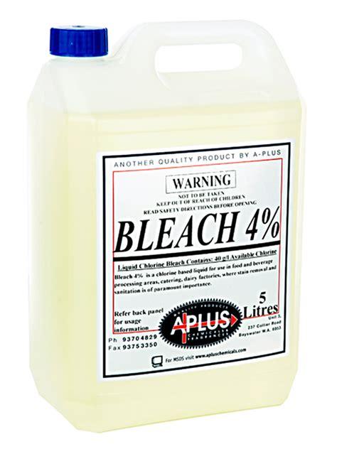 bleach    chemicals western australia