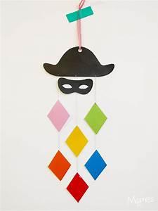 Bricolage Decoration A Faire Soi Meme : suspension arlequin pour le carnaval ~ Farleysfitness.com Idées de Décoration