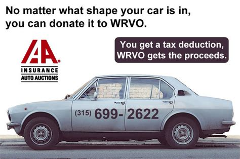 Give Car To Charity Tax Deduction - car donation program wrvo media
