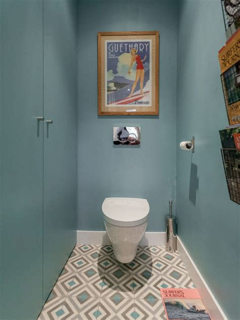 Idees Carrelage Wc by Photos Et Id 233 Es D 233 Co De Wc Et Toilettes Avec Un Sol En