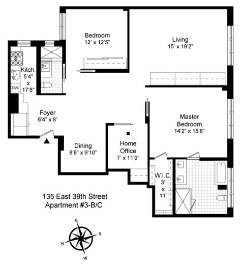 2 Bedroom Apartments For Rent Nyc by Coop Sales Nyc Murray Hill 2 Bedroom Apartment Real