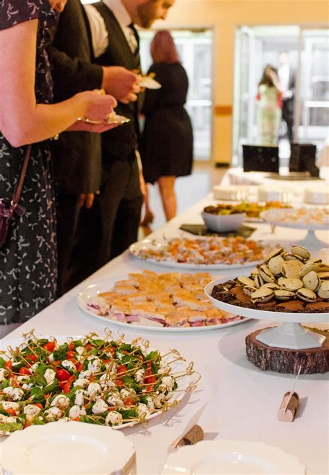 A Diy Wedding Reception For 200 Food Appetizers Diy