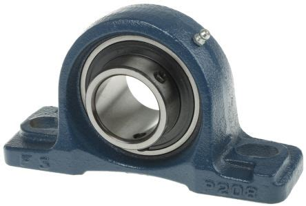 pillow block bearing ucp208 rs pro pillow block bearing ucp208 40mm id 750