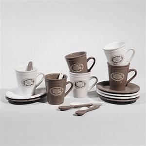 Tasse à Café Maison Du Monde : coffret 6 tasses caf blason tasse caf maisons du monde ~ Teatrodelosmanantiales.com Idées de Décoration