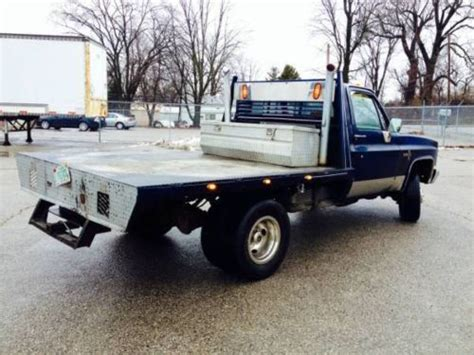 25704 flatbed truck beds for find used 1986 chevrolet k30 dually restored in