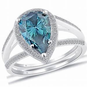 27 superb blue diamond wedding rings navokalcom With wedding rings blue diamond