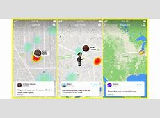 Snapchat Beefed Up Its Snap Map Feature With Map Explore