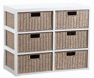 Meuble Salle De Bain Rangement : meuble bas de rangement bois salle de bain ~ Dailycaller-alerts.com Idées de Décoration