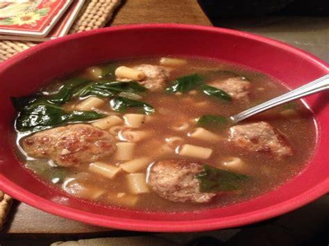 olive garden italian wedding soup recipe food
