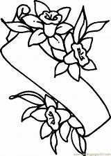 Coloring Lily Pages Easter Lilies Colouring Banner Flower Printable Cartoon Drawing Clipart Line Holidays Cliparts Spring Coloringpages101 Clipartmag Template sketch template