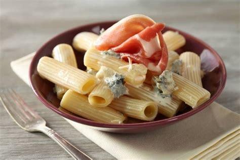 recette de rigatoni au gorgonzola et jambon de parme facile et rapide