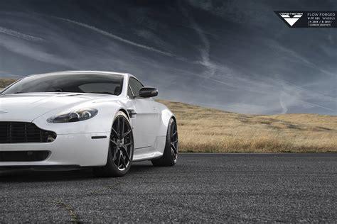 Aston Martin V8 Vantage On Vorsteiner Wheels