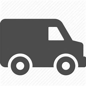 Car, courier, delivery, logistics, transportation, van ...
