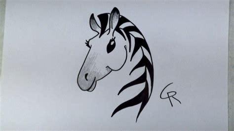 Zebra Face Drawings Wwwpixsharkcom Images Galleries