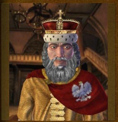 casimir iii  great polish leader image civ iv