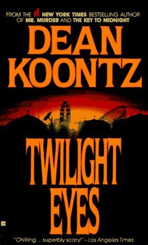 twilight eyes  dean koontz reviews discussion