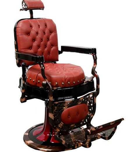 restored quot koch quot seat barber chair