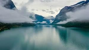Beautiful, Nature, Norway, Natural, Landscape, Lovatnet, Lake