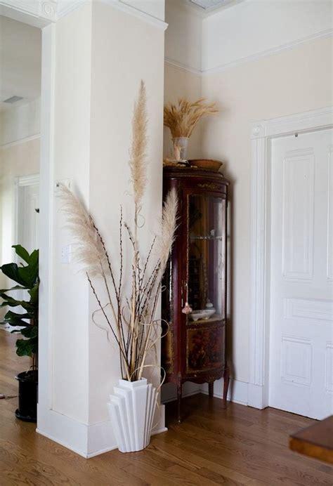 pampas grass vase interior decoration interiordesign