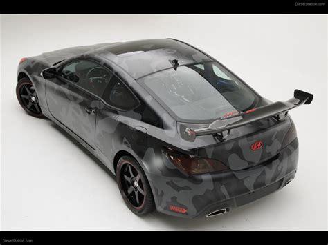 Hyundai Street Concepts Genesis Coupe Exotic Car