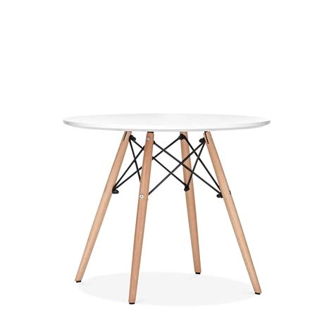 table ronde et chaise eames inspired dsw white table dsw dining tables cult