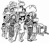 Refugees Displaced Hesperian Trabajador Refugiadas sketch template
