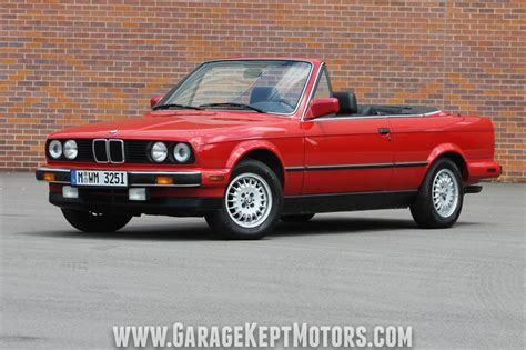 1988 Bmw 325i For Sale by 1988 Bmw 325i Convertible For Sale 91366 Mcg