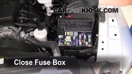 interior fuse box location   dodge ram