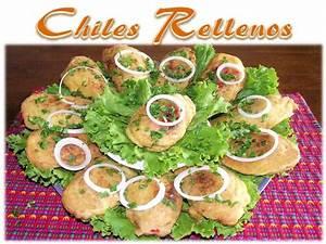 Receta Chiles Rellenos Guatemala - YouTube