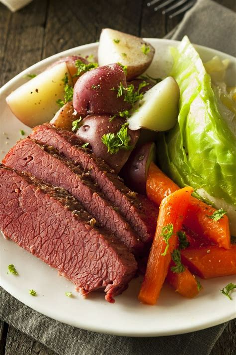 slow cooker corned beef  beer recipe st pats