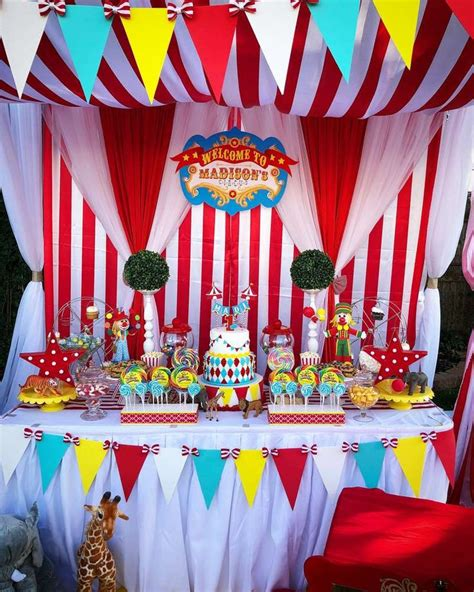 circus carnival birthday party ideas   kids