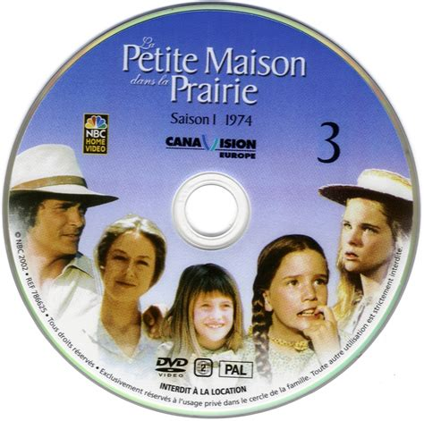 sticker de la maison dans la prairie saison 1 dvd 3 cinma