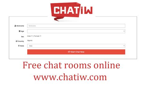 Chatiw Free Live Chat Rooms Online Wwwchatiwcom