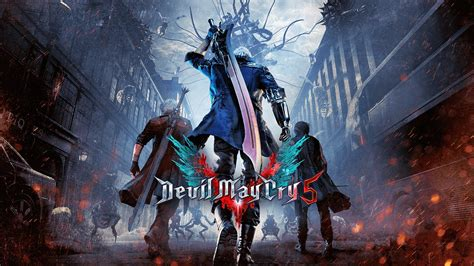 Devil May Cry 5 Officially Announced, Rleasing In Spring 2019