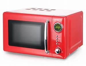 Mikrowelle Rot Retro : mikrowelle retro design emerio mw 112141 rot k chenger te mikrowellen ~ Eleganceandgraceweddings.com Haus und Dekorationen