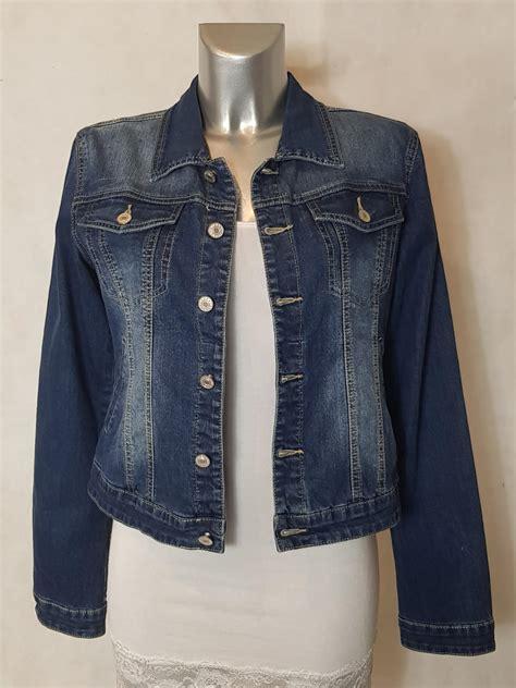 veste en jean troué veste en femme bleu cintr 233 e et courte aux caprices