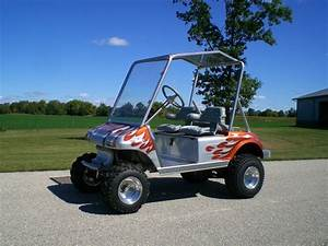 1997 Club Car Custom Golf Cart 24 Hp Honda Motor