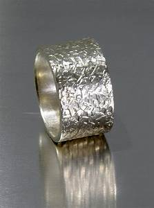 mens wedding band rustic sterling silver handmade With mens wide band wedding rings