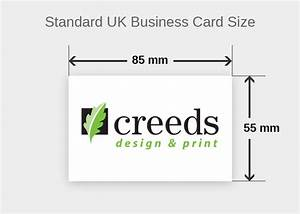 The standard business card size best business cards for Uk business card size