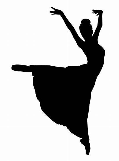 Dancer Silhouette Ballet Clipart Ballerina Dance Dancers