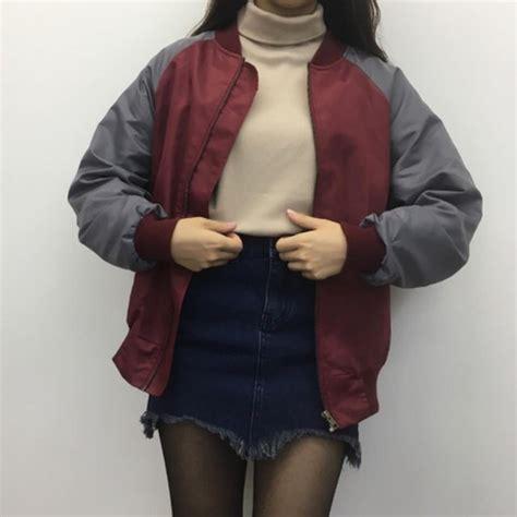 Coat burgundy jacket tumblr aesthetic burgundy aesthetic grunge tumblr outfit tumblr ...
