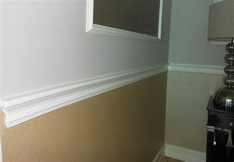 Chair Rail : Traditional Chair-rail And Chair Rail Molding