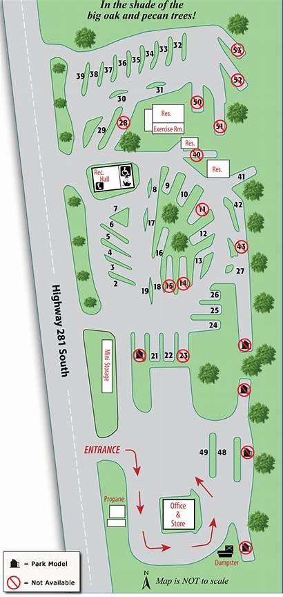 Rv Park Layout Parking Dimensions Lot Spot
