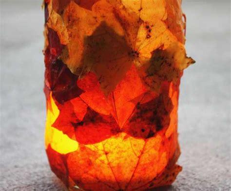 Simple Fall Decorating Idea Transforms Glass Jars into