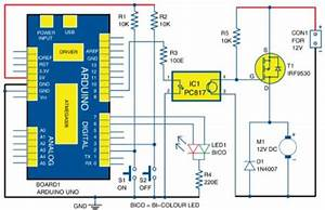 Dc Motor Soft Starter Using Arduino Uno Board