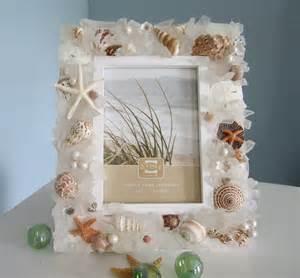 Seashell Beach Decor Frames