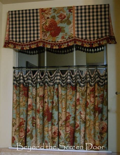 country kitchen fabric the most asked about cafe curtain valance beyond the 2793